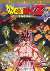 Dragon Ball Z - Movie 04 - Lord Slug on DVD
