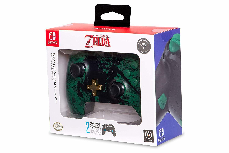 Nintendo Switch Wireless Controller - Zelda Silhouette for Switch image