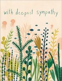 Under Water Deepest Sympathy Empathy Greeting Card