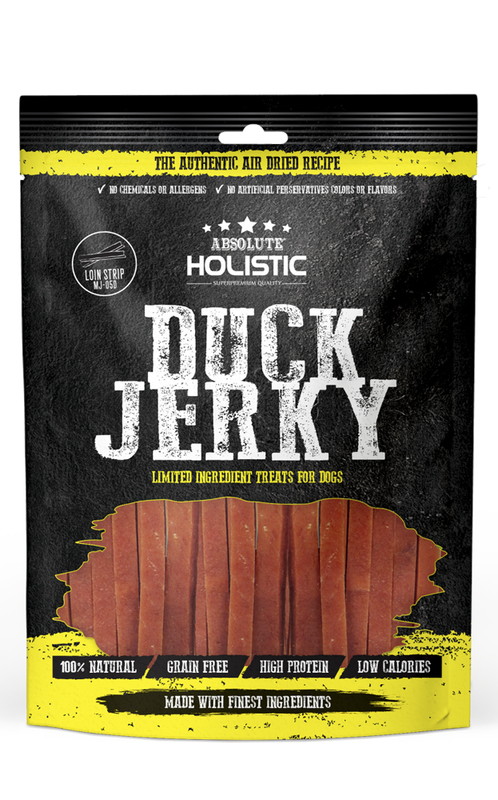 Absolute Holistic Duck Jerky for Dogs 90g