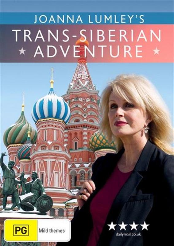 Joanna Lumley's - Trans-Siberian Adventure on DVD