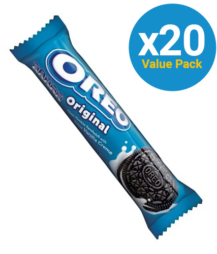Oreo Cookies Original 133g (20 Pack)