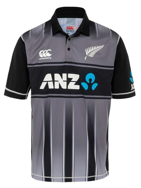 BLACKCAPS Replica T20 Shirt (XS)