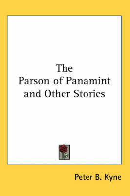 The Parson of Panamint and Other Stories by Peter B Kyne image