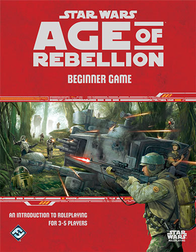 Star Wars: Age of Rebellion RPG Beginner Game by Fantasy Flight Games
