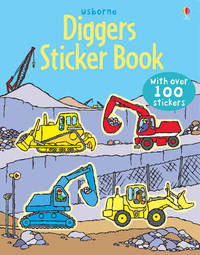 Diggers Sticker Book by Dan Crisp