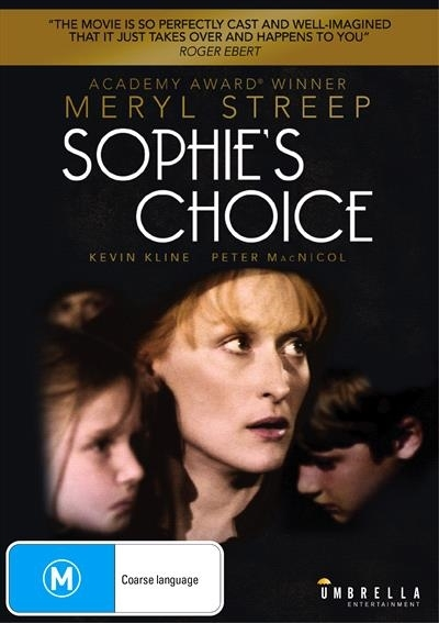 Sophies Choice on DVD image