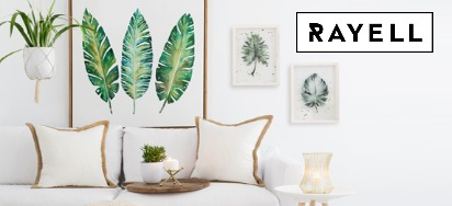 30% OFF Rayell Homewares!