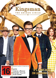 Kingsman: The Golden Circle on DVD