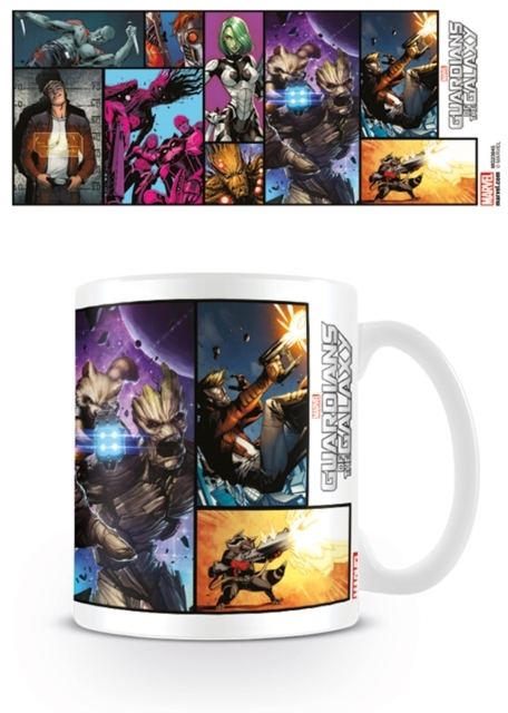 Marvel: Guardians Of The Galaxy Comic Print Mug