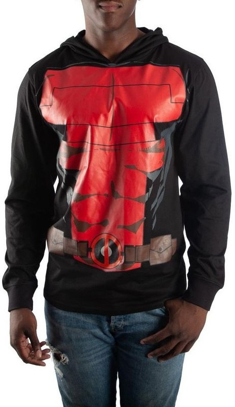 Marvel: Deadpool Suit-Up - Lightweight Hoodie (Large)