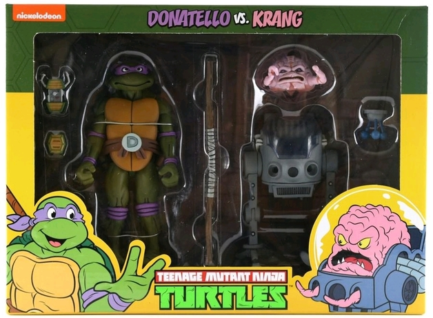 TMNT: Action Figure 2-Pack - Donatello vs Krang