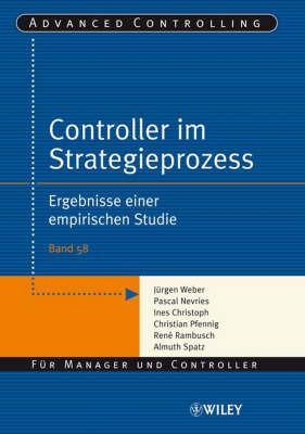 Controller Im Strategieprozess: Ergebnisse Einer Empirischen Studie by Almuth Spatz image
