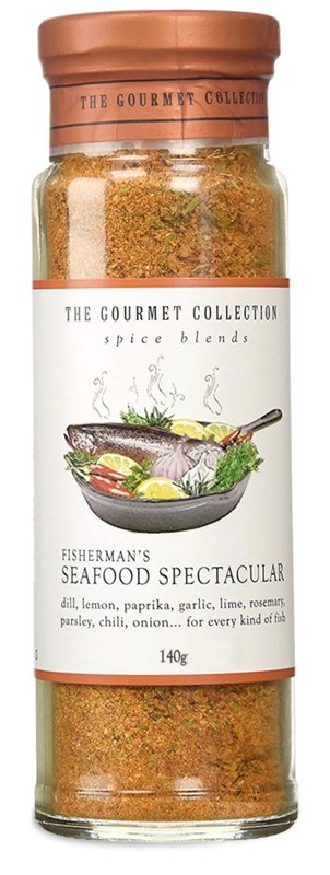 The Gourmet Collection Spice Blends - Fisherman Seafood Spectacular (140g)