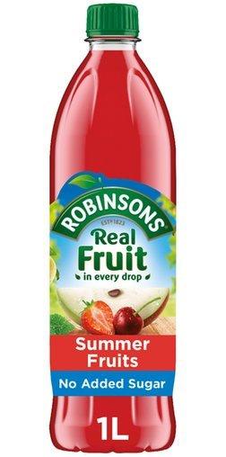 Robinsons Summer Fruits Squash No Added Sugar (1L)