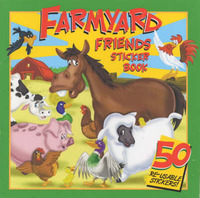 Farmyard Friends Sticker Book: Read and Count by Martin Rhodes-Schofield image