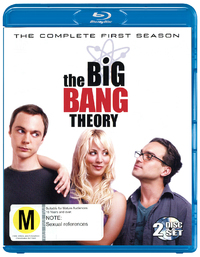 The Big Bang Theory - The Complete First Season on Blu-ray
