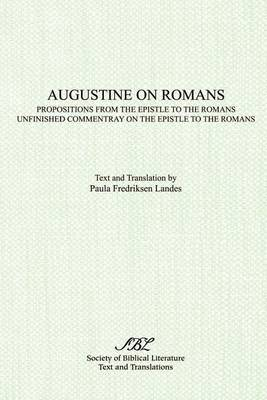 Augustine on Romans by Paula Landes