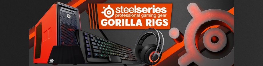 SteelSeries Gorilla Gaming Bonus this July!