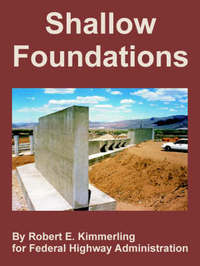 Shallow Foundations by Robert, E. Kimmerling image