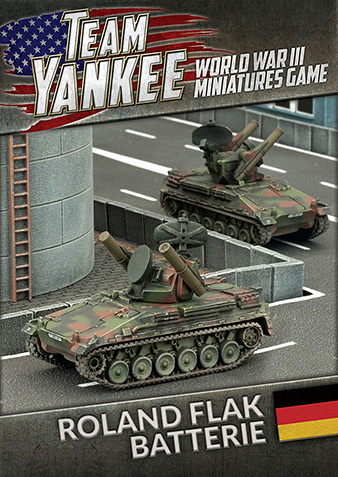Flames of War: Team Yankee Roland Flarakpanzer Batterie (x2)