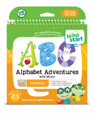 Leapstart: Alphabet Adventures - Activity Book (Level 1)