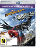 Spider-Man: Homecoming on Blu-ray, 3D Blu-ray, UV