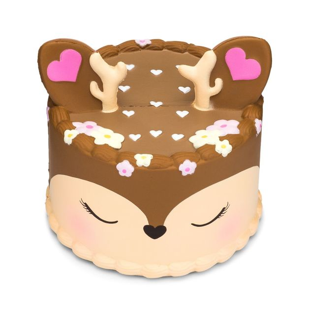 I Love Squishy: Deer Squishie Toy (10cm)