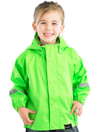Mum 2 Mum: Rainwear Jacket - Lime (3-4 Years)