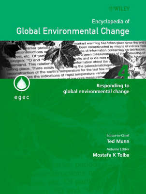 Encyclopedia of Global Environmental Change: v. 4
