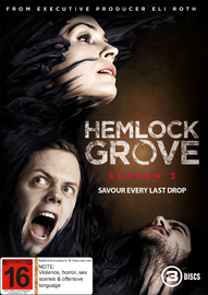 Hemlock Grove: Season 3 on DVD