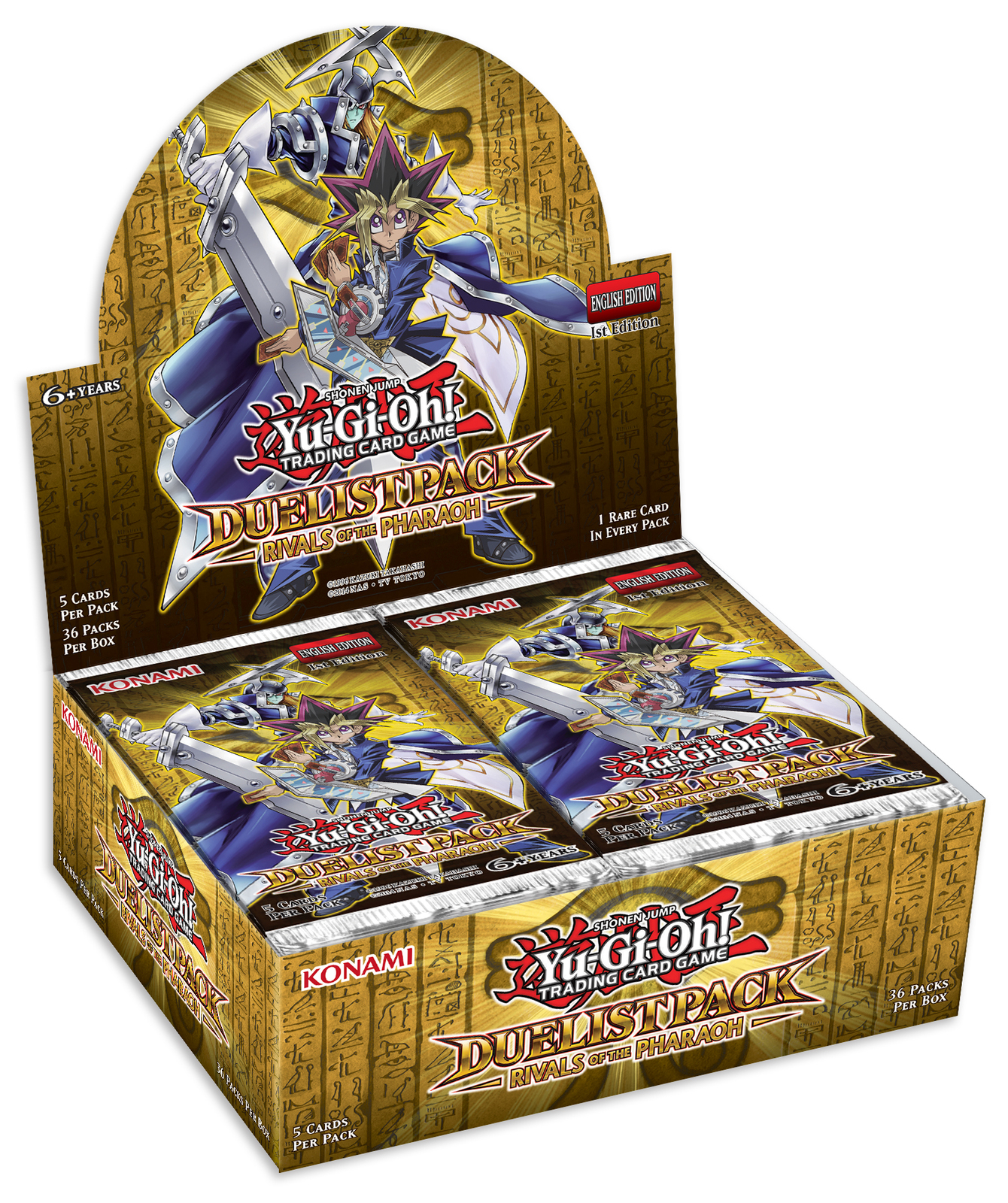 Yu-Gi-Oh! Duelist Pack: Rivals Of The Pharaoh Booster Box image