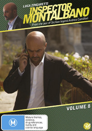 Inspector Montalbano - Vol 8 on DVD