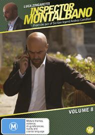 Inspector Montalbano - Vol 8 on DVD