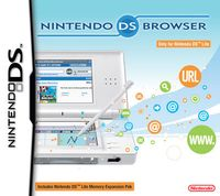 Nintendo DS Internet Browser for DS Lite for Nintendo DS image