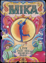 Mika - Live: Parc Des Princes, Paris on DVD