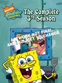 SpongeBob SquarePants - Complete Season 3 (3 Disc Set) on DVD image