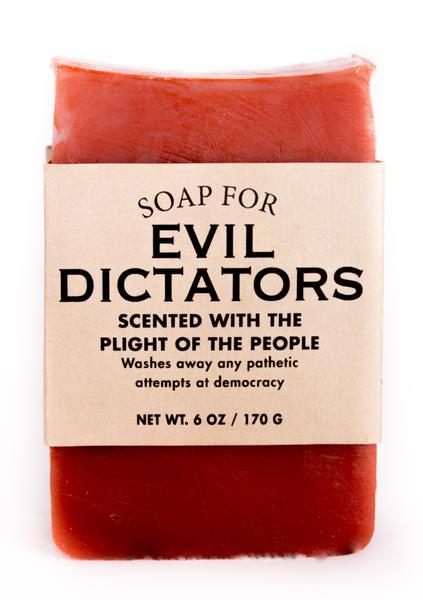 Whiskey River Co: Soap - Evil Dictators
