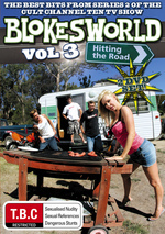 Blokesworld - Vol. 3: Hitting The Road (2 Disc Set) on DVD