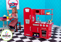 KidKraft - Red Vintage Kitchen