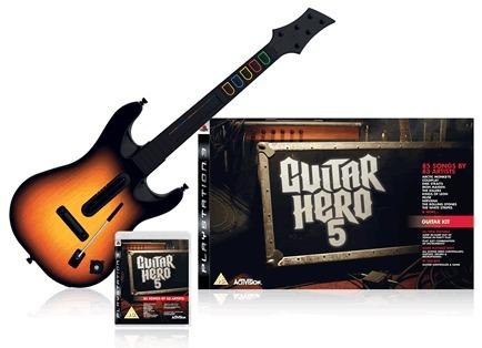Guitar Hero 5 Guitar Bundle (Game + Guitar) for PS3