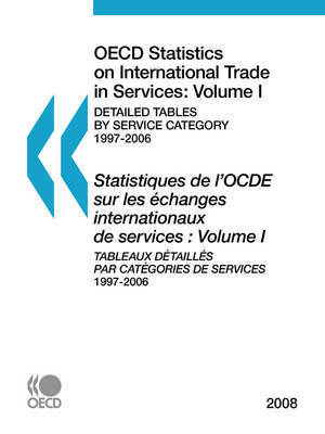 OECD Statistics on International Trade in Services 2008, Volume I, Detailed Tables by Service Category by OECD Publishing