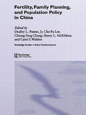 Fertility, Family Planning and Population Policy in China