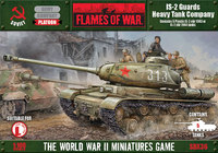 Flames of War: IS-2 Guards Heavy Tank Company