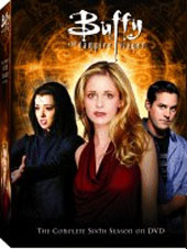 Buffy The Vampire Slayer Season 6 Vol 1 Collection on DVD