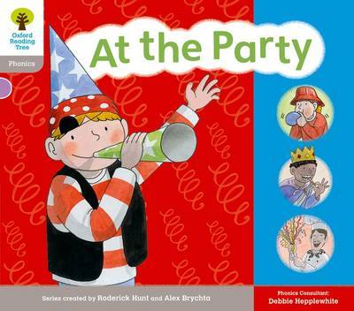 Oxford Reading Tree: Floppy Phonics Sounds & Letters Level 1 More a At the Party by Alex Brychta image