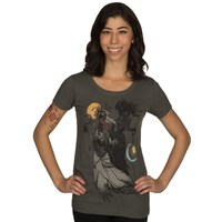 The Witcher 3 Spectral Brides Women's Tee (X-Large)