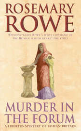 Murder in the Forum by Rosemary Rowe image