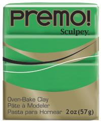 Sculpey Premo Green (57g) image