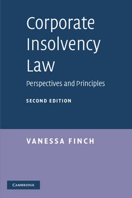 Corporate Insolvency Law by Vanessa Finch image